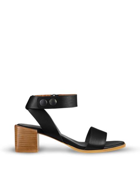 Filippa K Jordan Square Heel Sandal Black