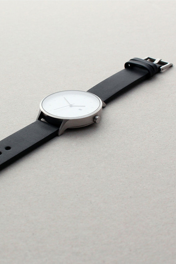 INSTRMNT Series 01-C BS/B Watch - White/Black