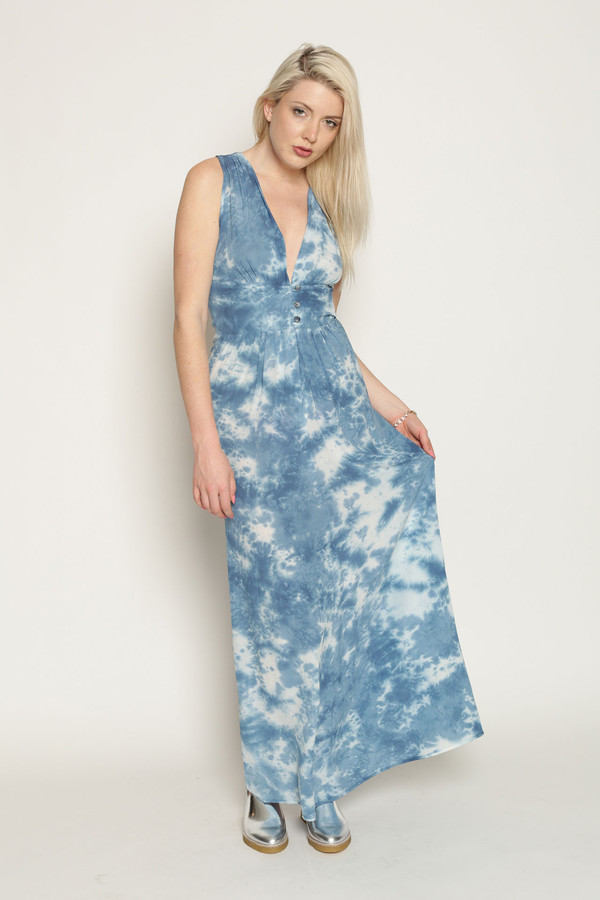 Upstate Dinny Dress in Trails