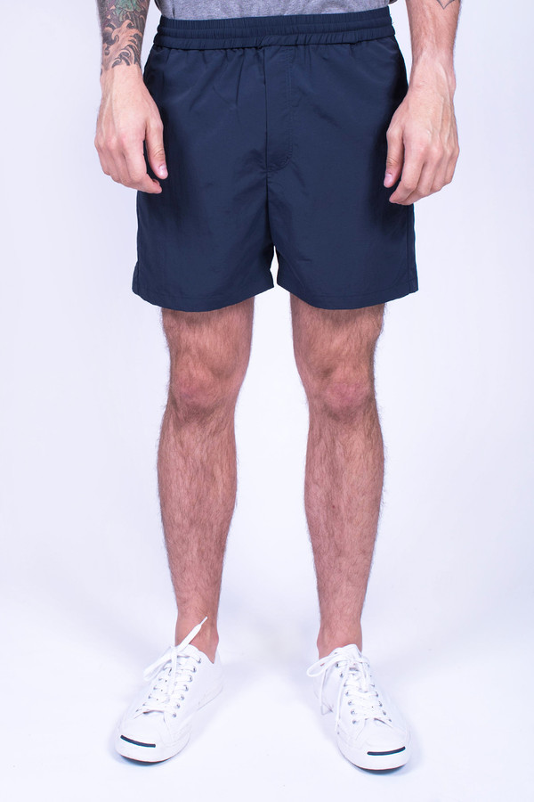Men's Wood Wood Les Shorts Navy