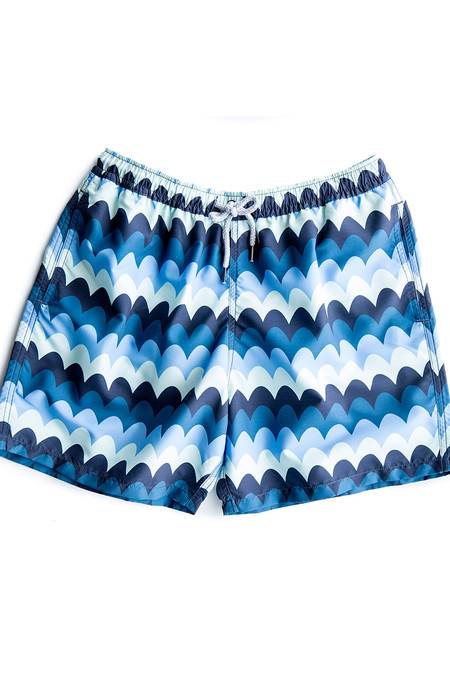 Men's Estivo Waves Swim Trunks