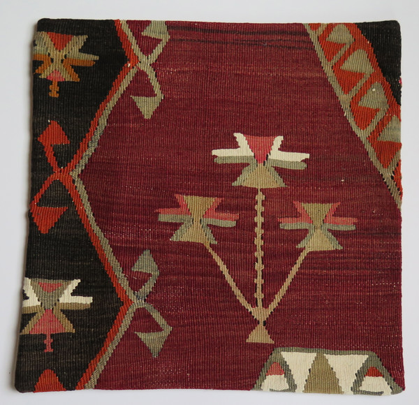 Kilim Vintage Turkish Pillow Style 8