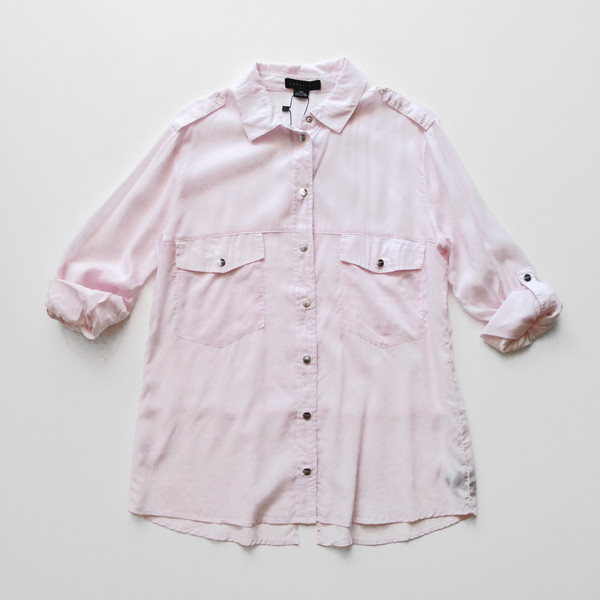 Sanctuary Boyfriend Shirt - Blush