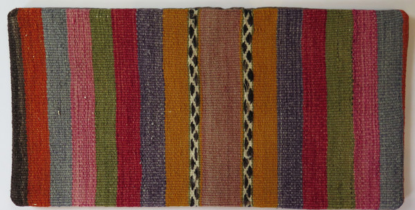 Kilim Small lumbar Turkish pillow case 4