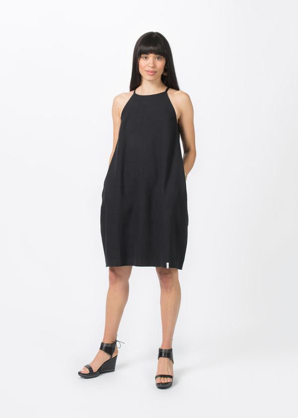 Album di Famiglia Spalline Dress - Black