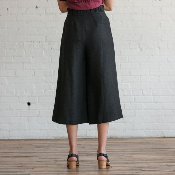 Apiece Apart Taiyana Wabi Wide Leg Cropped Pant