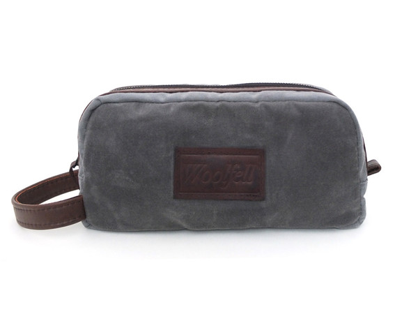 Woolfell Travel Case Gray and Brown