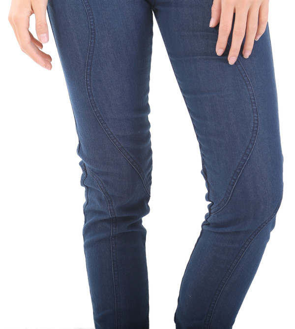 Prairie Underground Nouveau Legging in Blue Wash