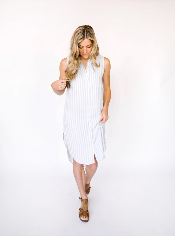 Rails Ivy Chalk Stripe