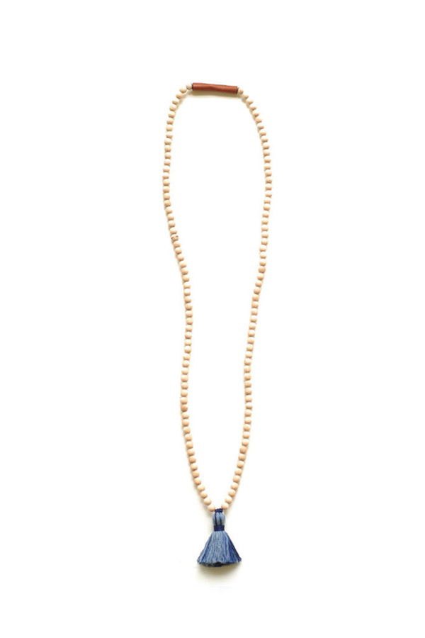 Ashwood Avenue Santo Necklace Indigo