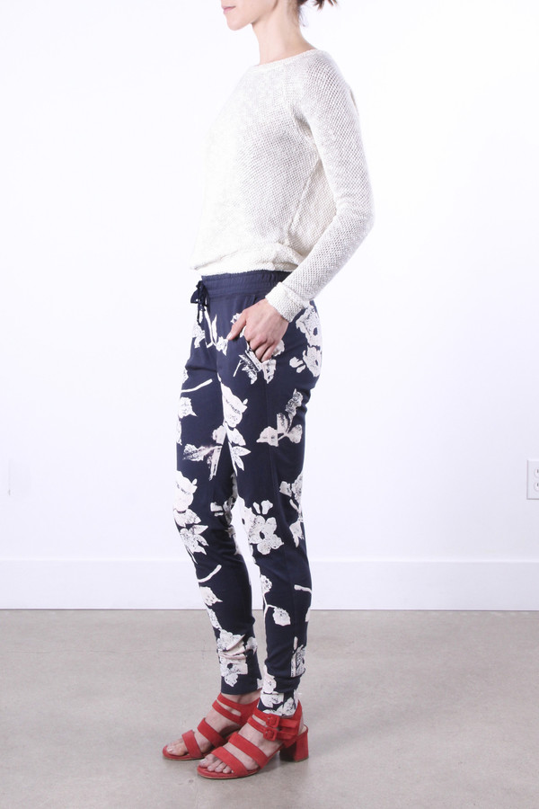 Calder Blake Cocteau Pant in Flower Print