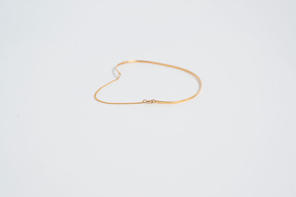 Vibe Harslof Anklet Gold Plated