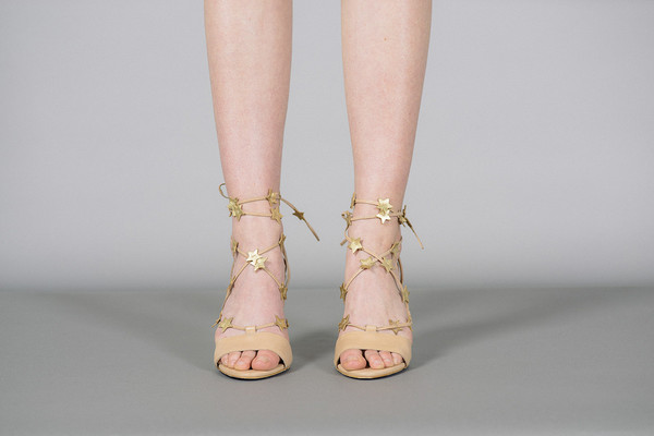 Loeffler Randall Arielle Star Lace Up Sandals