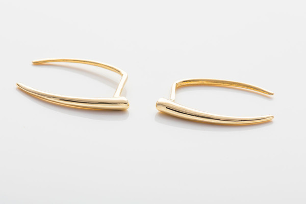 Gabriela Artigas Infinite Tusk Earrings
