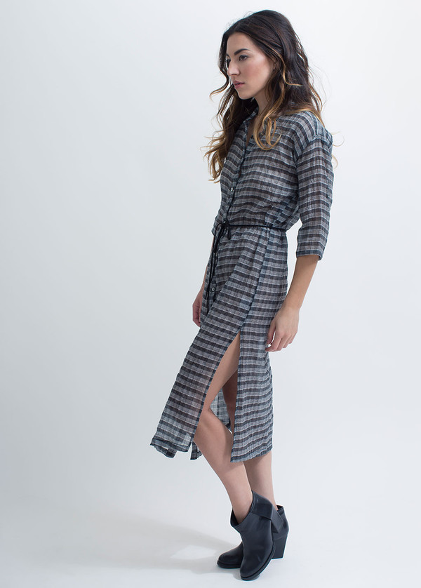 Objects Without Meaning Long Shirt Dress