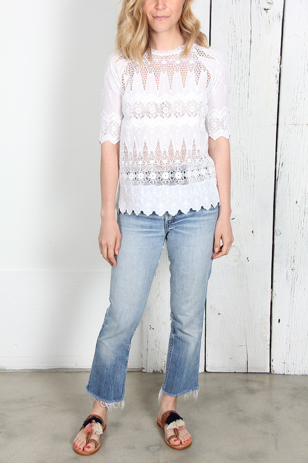 ULLA JOHNSON SADIE BLOUSE
