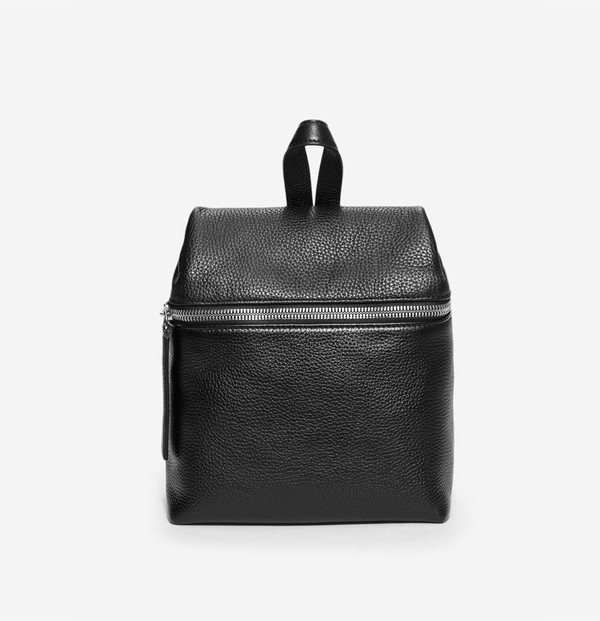 Small Backpack in Pebble Leather