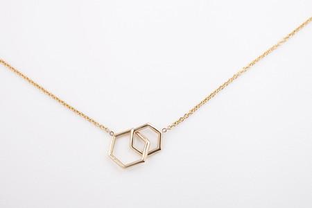 Hortense Together Hexagon Necklace