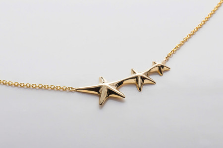 Gabriela Artigas Triple Shooting Star Necklace
