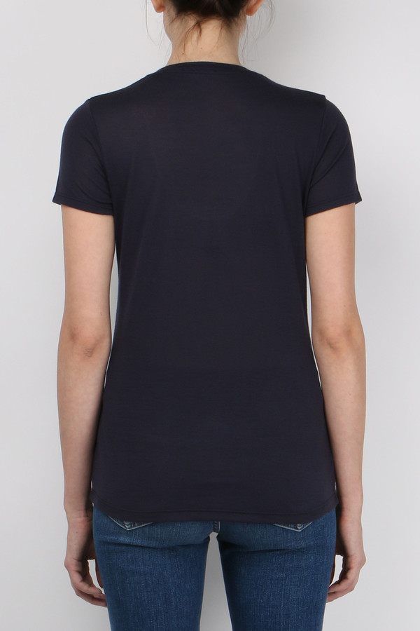 L'agence Perfect S/S Scoop Neck Tee