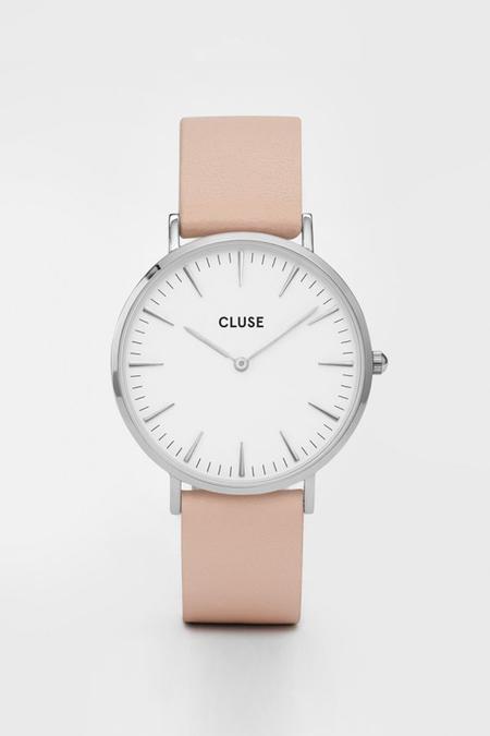 CLUSE WATCH La Boheme Silver White/Nude