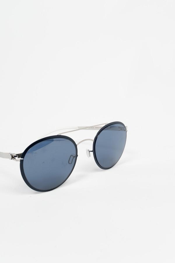 MYKITA Buster Sunglasses Silver/Night Sky