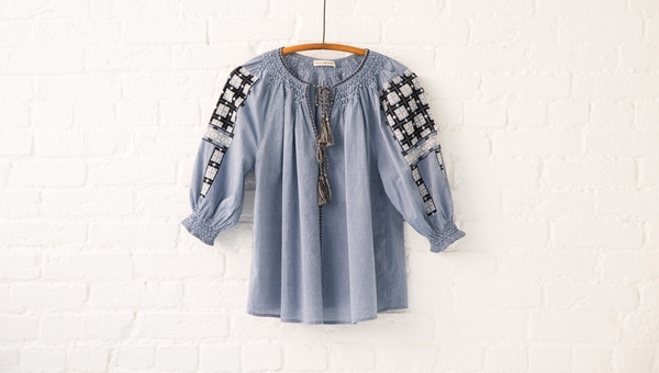 ulla johnson delia blouse