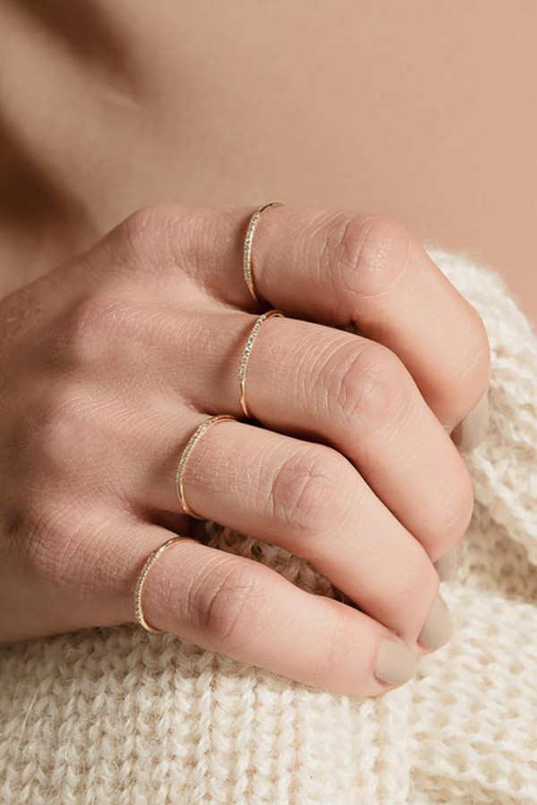 Gabriela Artigas & Company 14K Mini Axis Ring