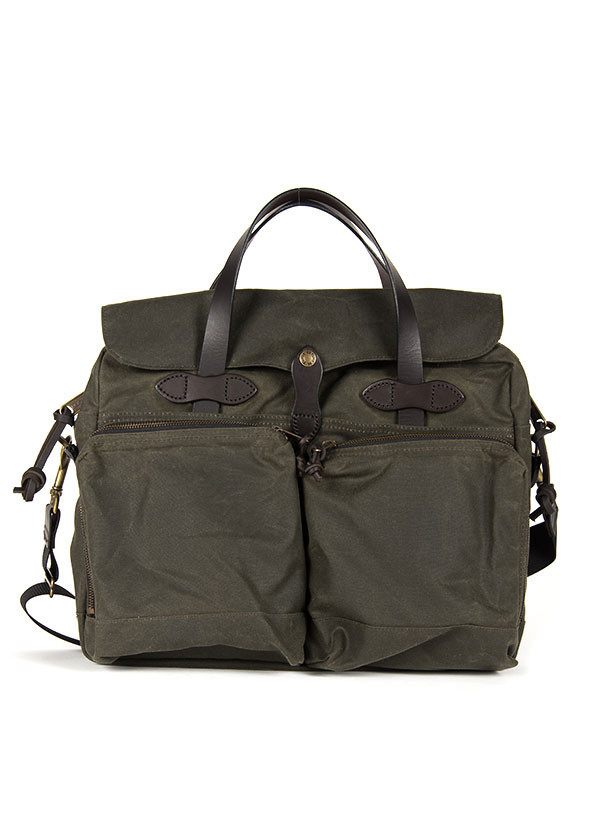Men's Filson - 72 Hour Briefcase in Otter Green