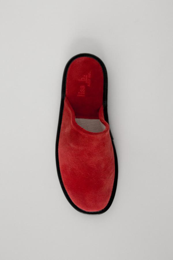 Lisa B. Women Suede Slipper - Red