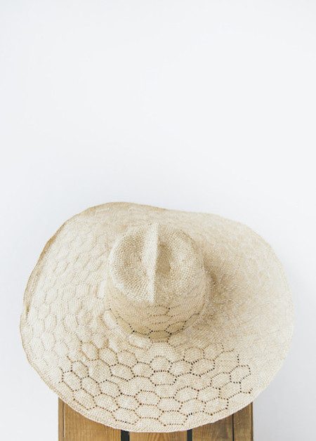 Brookes Boswell Millinery Optimo in Natural Weave