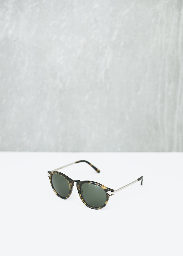 Karen Walker Eyewear Helter Skelter in Crazy Tortoise