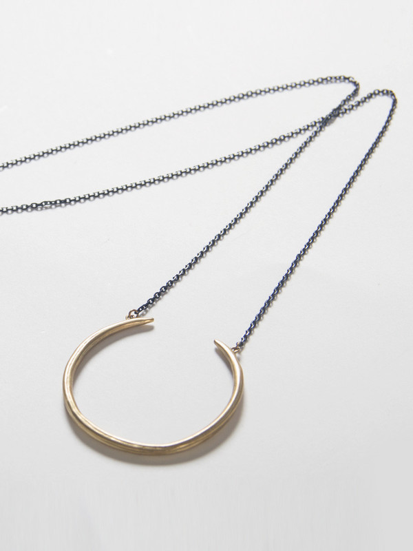K/LLER Quill Ring Pendant
