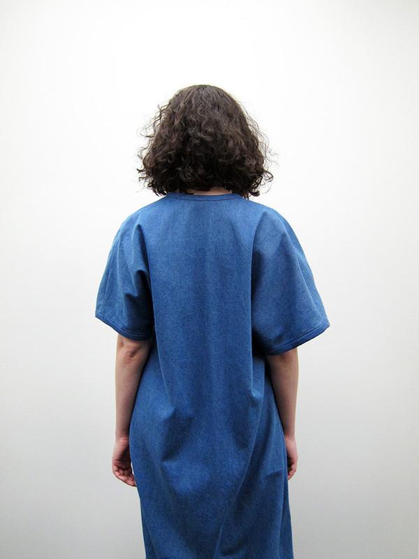 Suzanne Rae Kimono Dress | Blue/Black