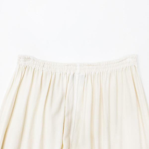 Johan Vintage Ivory Full Length Easy Pant