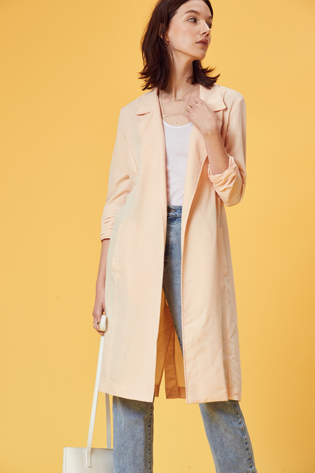 Stil. The Jacket in Blush