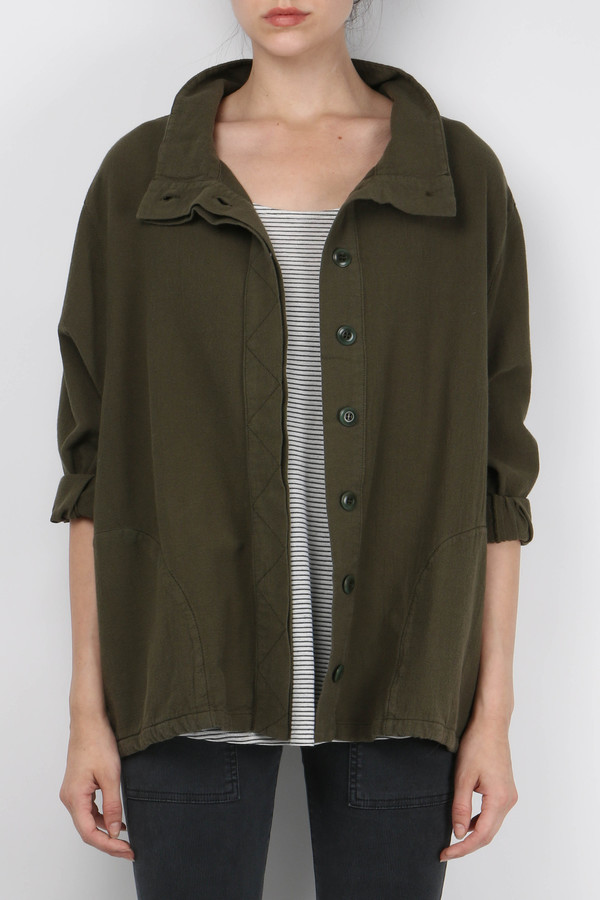 The Great The Slouchy Army Jacket