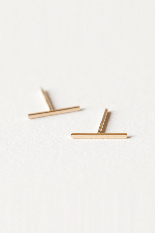 Totem 10mm 14k Gold Bars
