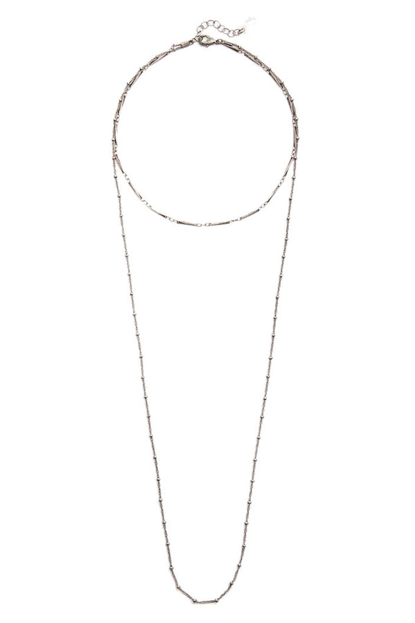 Grayling Willow Necklace in Silver