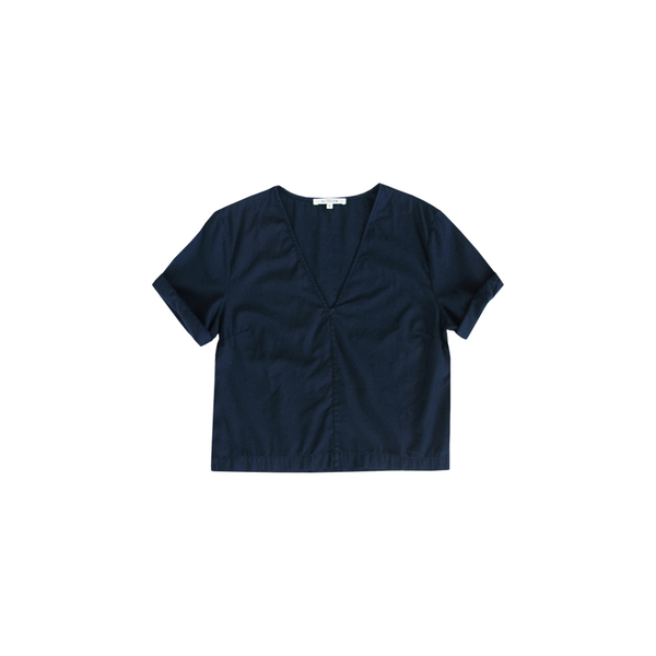 Ali Golden Navy V Top