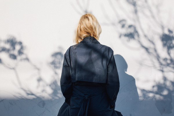 Objects Without Meaning Soft Trench, Navy