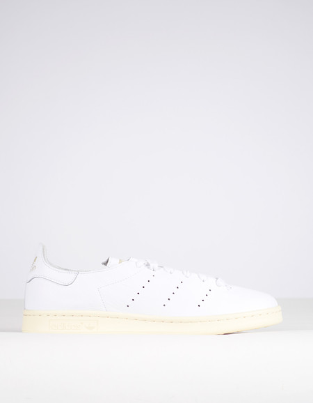 Adidas Men's Stan Smith Lea Sock White Green