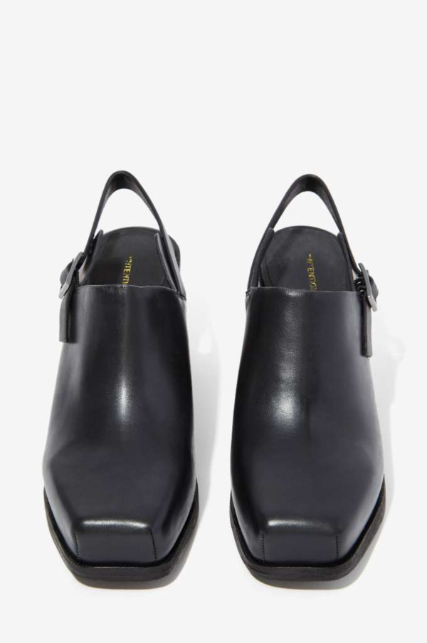 Intentionally Blank Leather Honcho Slingback