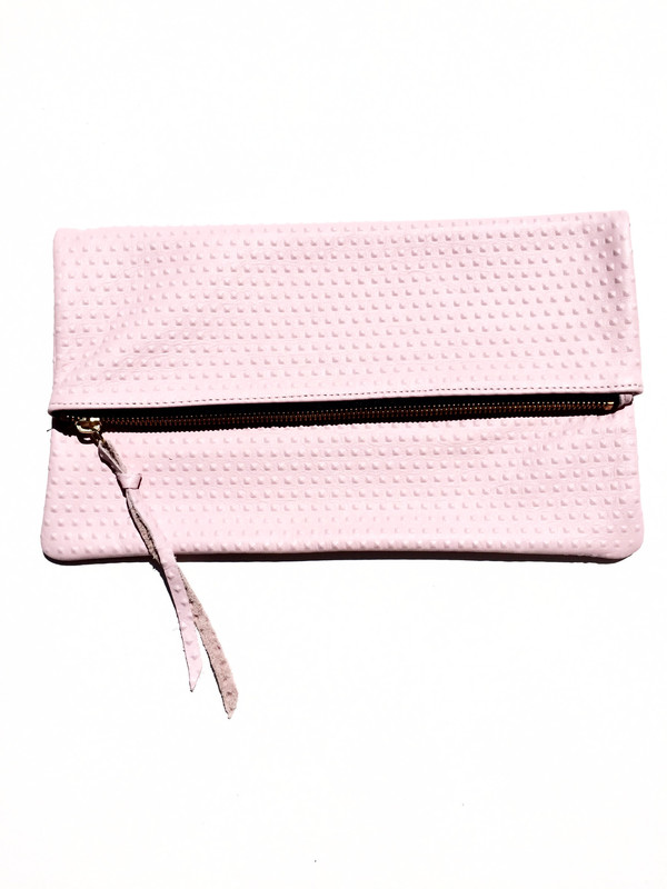 OLIVEVE anastasia in pink divot cow leather