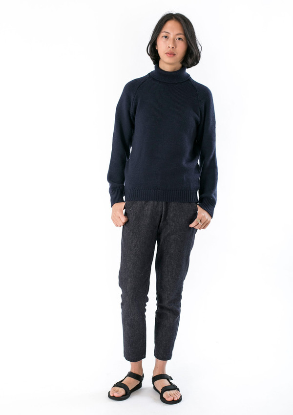 UNISEX GOOD STUDIOS AUSTRALIAN WOOL TURTLE NECK JUMPER