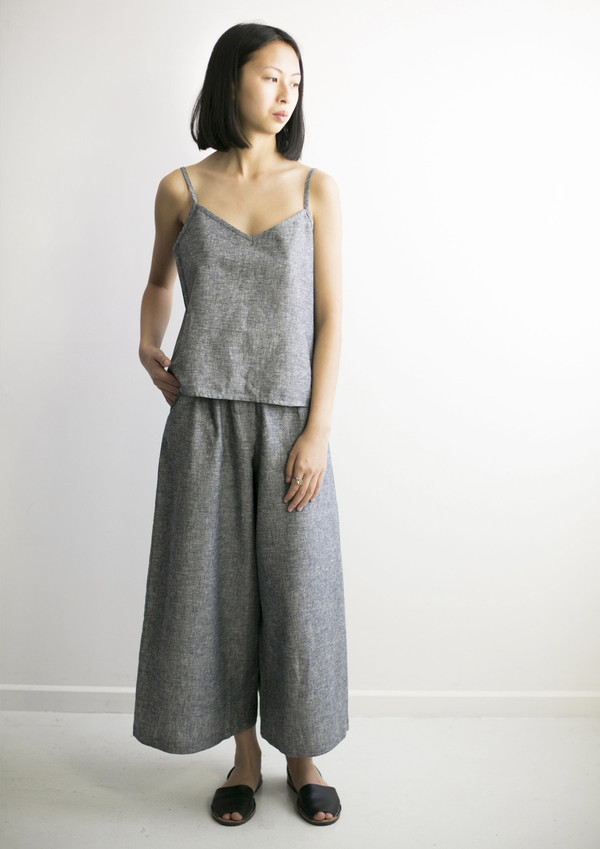 GOOD STUDIOS WOMENS HEMP LINEN SINGLET