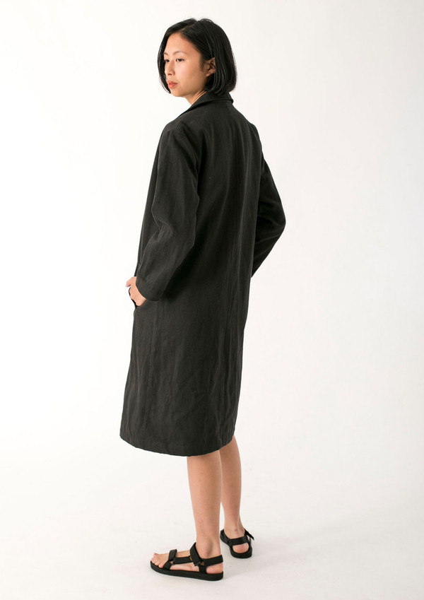 WOMENS TWILL DUSTER