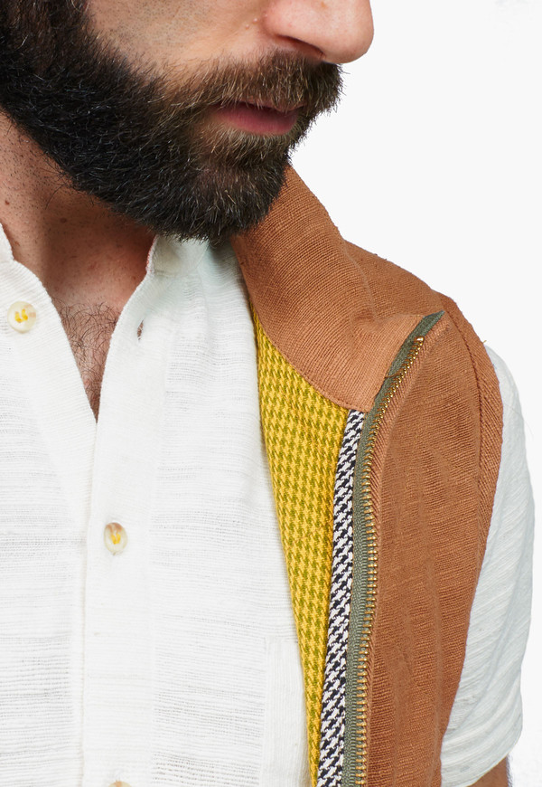 Men's Deshal Khoir Khadi Vest