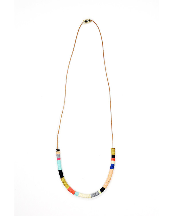 Julie Thevenot Chunky Half Island Necklace