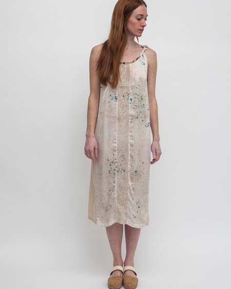 Milena Silvano Dharmette Dress in Stain Dye